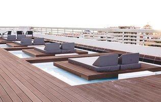 терраса Hotel Coral Suites & Spa